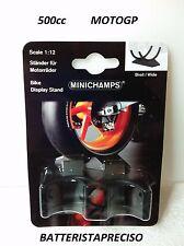 MINICHAMPS 1/12 SET 2 CAVALLETTI MOTOR BIKE STAND WIDE MOTOGP E 500cc 312100010