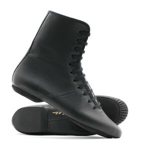 Black Split Sole Jazz Stage Dance Shoes Boot All Sizes By Katz Dancewear