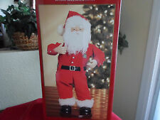 "Animated Musical ""Jingle Bell Rock"" Rock Hip Swingin Santa Display Figure"