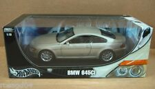 "Hot Wheels BMW 645Ci Silver Car 10"" Long Die-Cast 1:18 Scale NEW Stock #B3243"