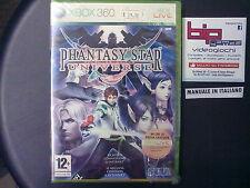PHANTASY STAR UNIVERSE XBOX360 PAL ITA NUOVO SIGILLATO