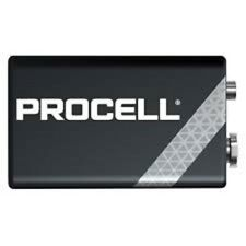 10x Duracell Industrial 9V E-Block MN1604 Alkaline 6LR61 Batterie Neue Ware