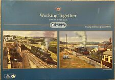 Gibsons Puzzles: 'WORKING TOGETHER'  2 X 500-Piece Jigsaw Puzzles - VGC