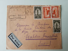 Morocco 1932, cover to Switserland, airmail