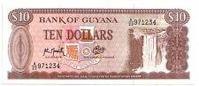 Guyana  10 dollars  1992   FDS  UNC    pick 23 f    lotto 3205
