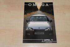 02499) Opel Omega A - Holland - Prospekt 11/1989