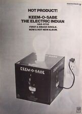The Electric Indian 1969 Poster Ad Keem-O-Sabe len barry