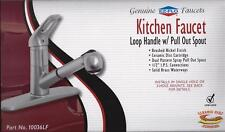 EZ-FLO 10036LF Pull-Out Kitchen Faucet Ceramic Disc Brushed Nickel