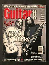 Guitar One Magazine April 2000 Korn  Head & Munky