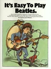 It''s Easy to Play The Beatles Sheet music