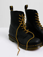 New Drmartens Unisex 8 10 Eye Laces In Brown Yellow