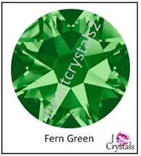 FERN GREEN 30ss 6.5mm 6 pieces Swarovski Crystal Flatback 2028 Rhinestones