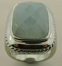 ROSS SIMONS STERLING SILVER CHALCEDONY RING SIZE 7