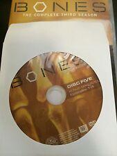 Bones - Season 3, Disc 5 REPLACEMENT DISC (not full season)