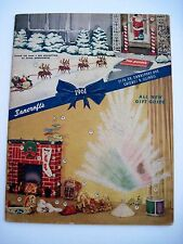 "1961 ""Bancroft's Christmas Catalog w/ Unique Gifts & Christmas Toys & More  (N)*"