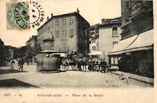RIVE DE GIER - Place de la Boirie (attelage)