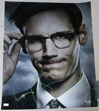Cory Michael Smith Signed 16x20 Photo BAS Beckett COA Gotham Picture Autograph