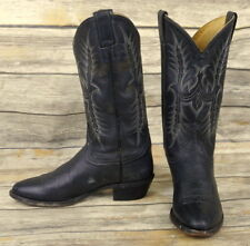 Tony Lama Cowboy Boots Mens Size 8.5 D Distressed Country Western Rockabilly