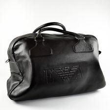 Emporio Armani Large Dark Brown Men's Brief-Case / Brief Case / Travel Bag - New