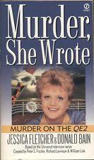MURDER SHE WROTE MURDER ON THE QE2 By JESSICA FLETCHER & DONALD BAIN Signet PB