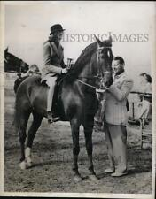 1939 Press Photo Stephen Budd daughter Peggy at Sandhills Horse show in NC