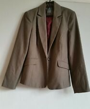 Atmosphere Ladies suit jacket size uk14 brown