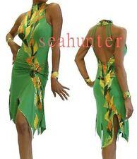 U5340 Competition ballroom women swing Latin salsa samba dance dress Custom made