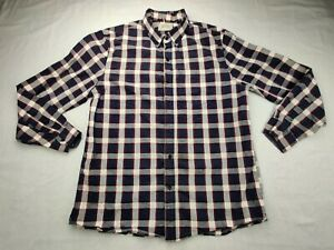 Boston Traders Men's L  Button-down Long Sleeve Multicolor Shirt