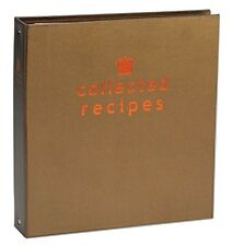 Create Your Own Collected Recipes Cookbook, Brown & Copper, Meadowsweet Kitchens