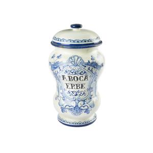 Barattolo a rocchetto Aboca Museum Collection