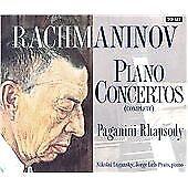Rachmaninov - Complete Piano Concertos, John Lill,Nikolai Lugansky,Jorge, Very G