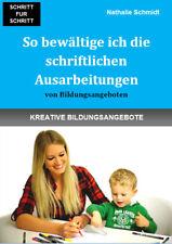 Fachbuch zur Ausbildung zum Erzieher, Bildungsangebote Erzieherausbildung