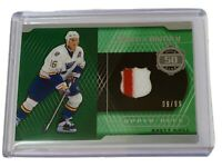 2019-20 SP GAME USED A PIECE OF HISTORY /99 BRETT HULL BLUES