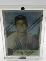 1996 TOPPS FINEST MICKEY MANTLE COMMEMORATIVE 1954 BOWMAN #65 REPRINT REFRACTOR