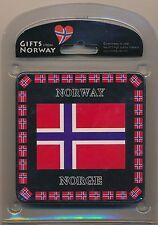 Norwegian flag coasters– set of three