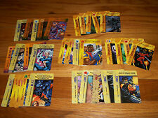 MARVEL OVERPOWER LOT OF SPECIAL CARDS - BISHOP, BEAST, FORGE, BLACK PANTHER ...
