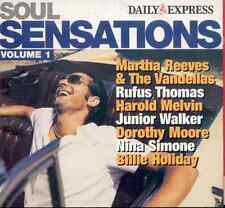 SOUL SENSATIONS - PROMO 2 CD SET (2005) MARTHA REEVES, HAROLD MELVIN, JR WALKER