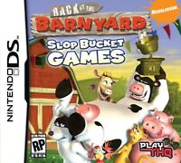 Back At The Barnyard: Slop Bucket Games For Nintendo DS DSi 3DS 2DS 2E