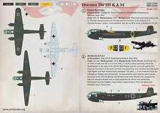 Print Scale Decalcomanie 1/72 Dornier Do-217 K & M #72329