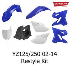 Polisport MX Re-Style Plastics Kit - Yamaha YZ125/250 02-14 Into YZ125/250 15-17