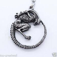 Alien vs. Predator Alien Character 3D Silver Metal Keychain Keyring