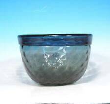 Hadeland Norway Glassverk Johansson Mid Century Modern Art Glass Optic Bowl