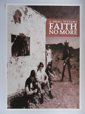 FAITH NO MORE A SMALL VICTORY poster dimension environ 61 x 86 cm