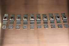 10 - 1/4x28 Cage Nuts (Fit XK 120, 140, 150 Jaguars)