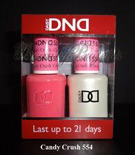 DND Daisy Soak Off Gel Polish Candy Crush 554 full size 15ml LED/UV gel duo NEW