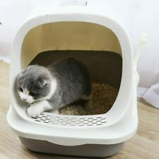 New Enclosed Cat Litter Box Anti-spatter Drawer Top Into Cat Toilet Cat Supplies