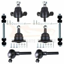 8 Front Ball Joints Tie Rods Sway Bar For Chevy Bel Air Corvette Impala Biscayne
