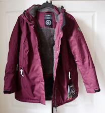 NEW! RRP £130 Killtec Nira WINTER burgundy WATERPROOF 10,000 windproof UK 18