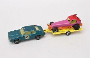 Corgi Juniors / Corgi Rockets Ford Capri, Todd Sweeny Stock Car and Trailer