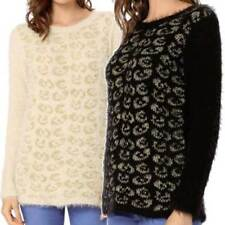 Cotton Winter Crewneck Jumpers & Cardigans for Women